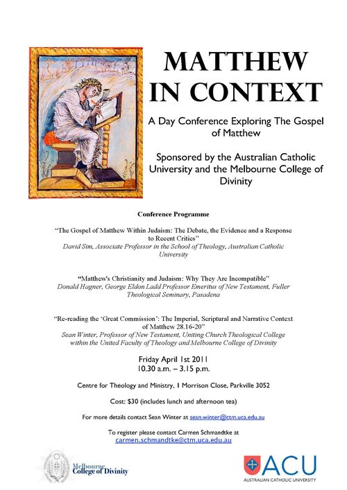 Matthew Conference Poster