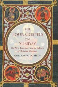 Four-gospels-on-sunday-new-testament-reform-christian-gordon-w-lathrop-hardcover-cover-art